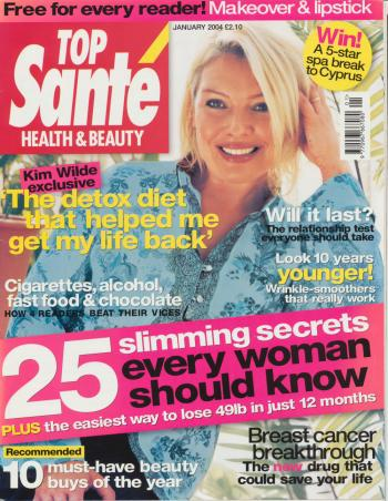 Top Santé (UK), January 2004