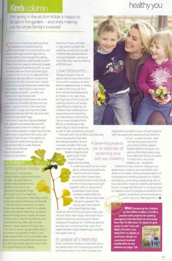 Healthy (UK), March 2005