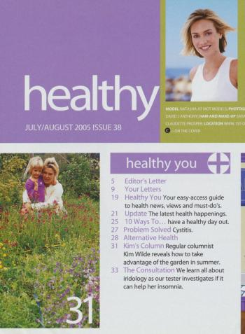 Healthy (UK), July 2005