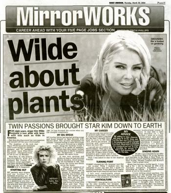 Daily Mirror (UK), March 30, 2006