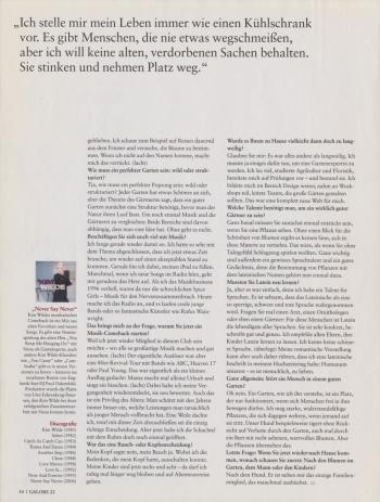 Galore (Germany), September 25, 2006