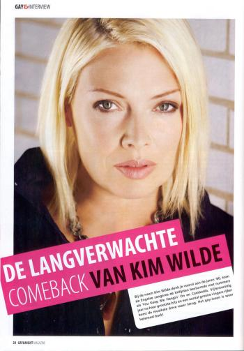 Gay & Night Magazine (Netherlands), October 2005