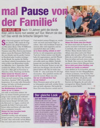 InTouch (Germany), March 2007