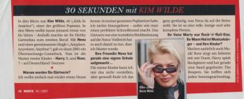 Bunte (Germany), November 2007