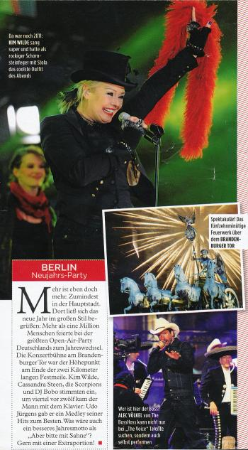 Gala (Germany), January 2012