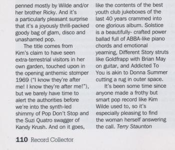 Record Collector (UK), April 2018