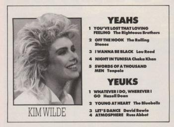 No. 1 (UK), June 1, 1985