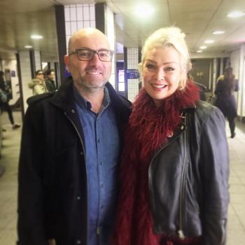 On January 23, @vinylluver bumped into Kim on Oxford Circus tube station in London