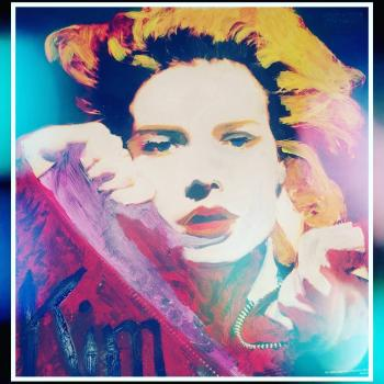Kim Wilde art, posted by @hejsanhenry on January 26