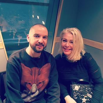 Kim Wilde and @djphilmarriott, posted on March 2