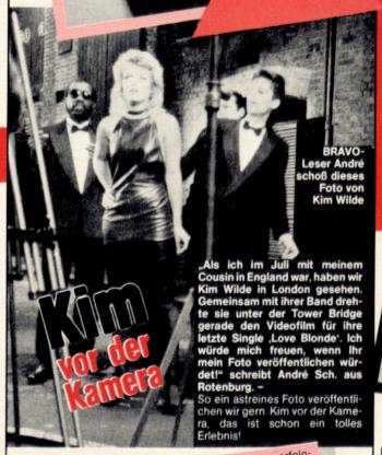 Bravo (Germany), November 3, 1983
