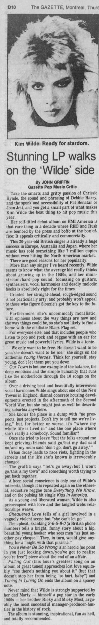 The Gazette (Canada), April 8, 1982