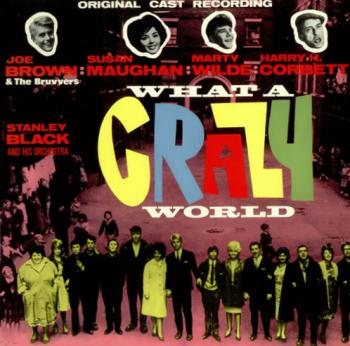 The LP 'What a crazy world'